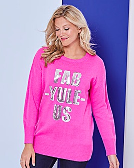 Fab-yule-us Christmas Tunic Jumper