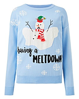 Having A Meltdown Christmas Jumper