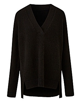 Cosy Slouchy V-Neck Jumper
