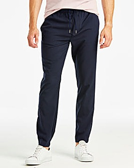 Jacamo Navy Smart Jogger 35in