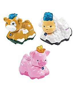 Toot-Toot Animals 3 Pack