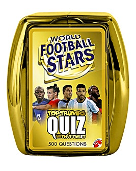 Top Trumps Quiz World Football Stars