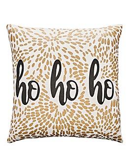 Ho Ho Ho Firework Cushion
