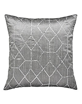 Sequin Geo Cushion