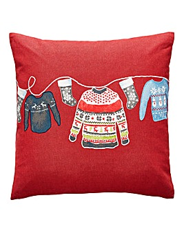 Christmas Jumper Cushion