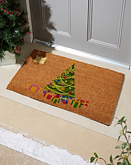 Christmas Tree LED Light Up Doormat