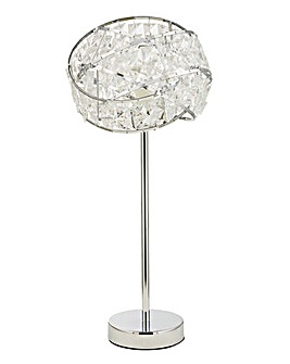 Twist Acrylic Table Lamp