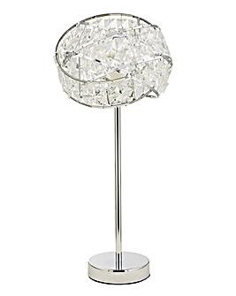 Twist Acrylic Table Lamp