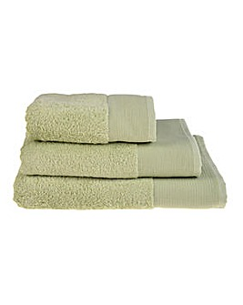 Bamboo Cotton Towels- Mint Green
