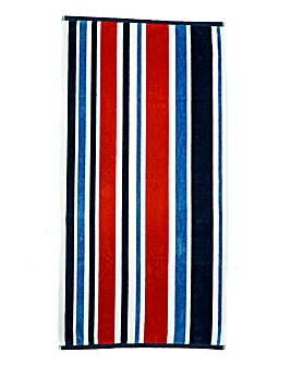 Nautical Beach Towel