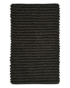 Graphite Sparkle Bathmat