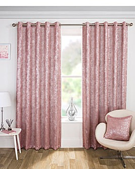 Halo Metallic Thermal Blackout Eyelet Curtain