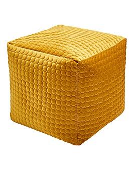 Velvet Opulence Quilted Cube