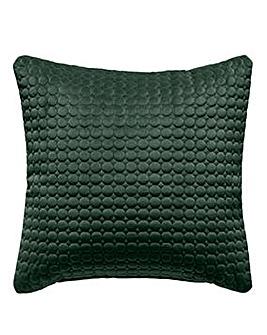 Velvet Opulence Quilted Cushion
