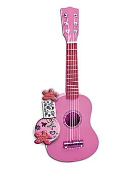 Wooden Guitar Girl