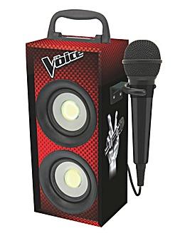 The Voice Mini Bluetooth Tower & Mic