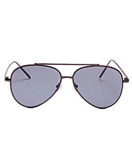 Claire Gunmetal Frame Sunglasses