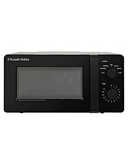 Russell Hobbs 14L Black Manual Microwave