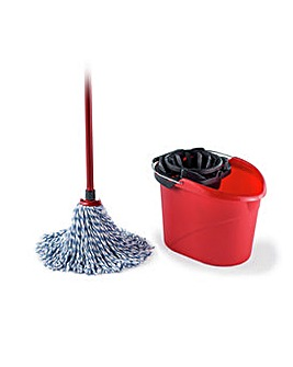 SuperMocio Microfibre Mop with Bucket