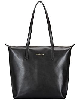 Smith & Canova Large Smooth Leather Zip