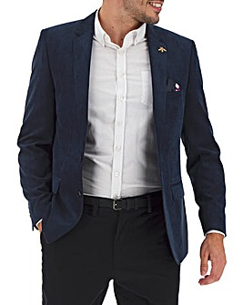 Navy Perry Cord Blazer
