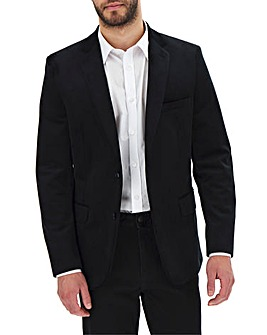 Black Velvet Regular Fit Blazer