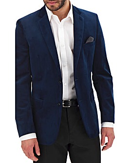 Midnight Velvet Regular Fit Blazer