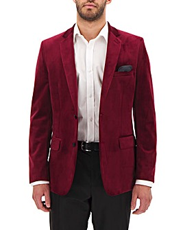 Port Velvet Regular Fit Blazer