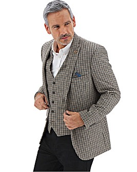 Brown/Grey Nelson Dogtooth Blazer