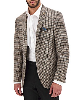 Brown/Grey Nelson Dogtooth Blazer