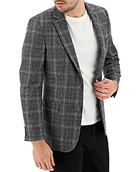 Brown/Charcoal Kenny Window Check Blazer