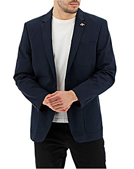 Navy Martin Cotton Blazer