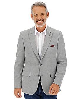 Grey Jasper Textured Blazer