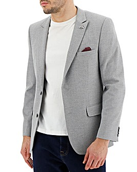 Grey Jasper Textured Blazer