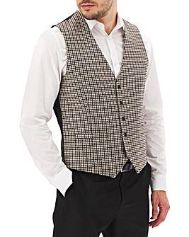 Brown/Grey Nelson Puppytooth Waistcoat