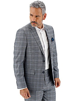 Blue Check Charlie Plaid Suit Jacket