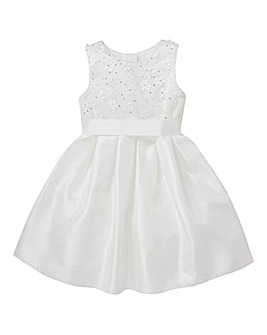 KD Girls Ivory Bridesmaid Dress