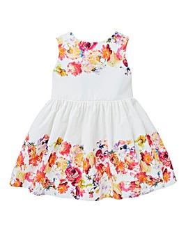 KD Baby Floral Border Summer Dress