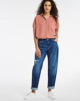 Riley Ripped Slouch Boyfriend Jeans