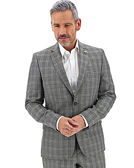 Grey Check Bart Suit Jacket