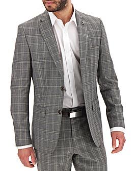 Grey Check Bart Suit Jacket