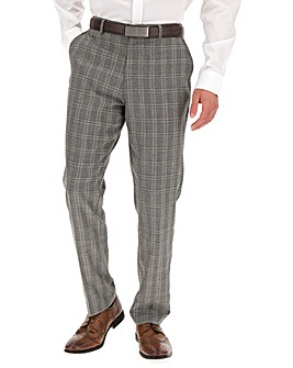 Grey Check Bart Suit Trousers