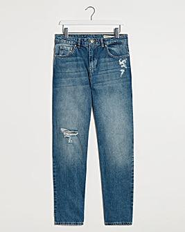 Ripped Riley Slouch Boyfriend Jeans