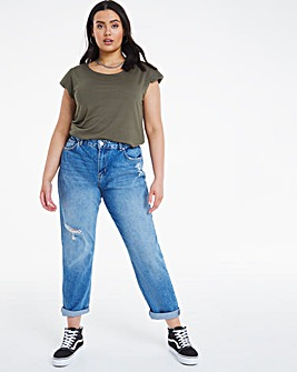 Riley Ripped Slouch Boyfriend Jeans