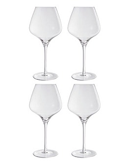 Elegance Set of 4 Red Wine Glasses