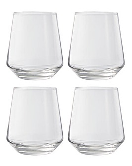 Elegance Set of 4 Tumbler Glasses