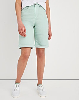 24/7 Sage Knee Length Shorts
