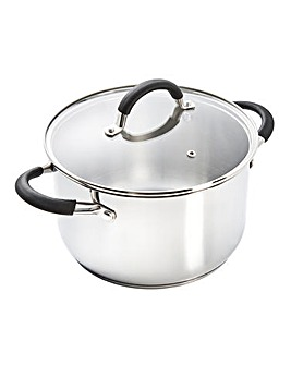 Stainless Steel 24cm Stock Pot
