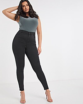 Black Cloud Soft Touch Skinny Jeans