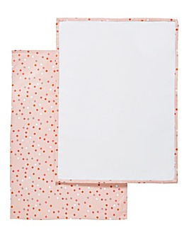 Spots Set of 2 Cotton Tea Towels